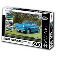PUZZLE ŠKODA 1000 MB (1966) 500 dílků