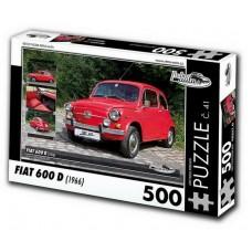 PUZZLE FIAT 600 D (1966) 500 dílků