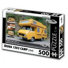 PUZZLE ŠKODA 1203 CAMP (1969) 500 dílků