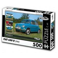 PUZZLE FIAT 600 D (1964) 500 dílků