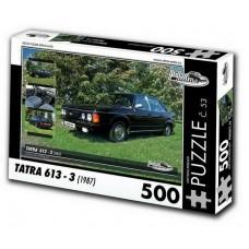 PUZZLE TATRA 613 - 3 (1987) 500 dílků