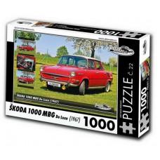 ŠKODA 1000 MBG De Luxe (1967) 1000 dílků