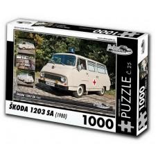PUZZLE ŠKODA 1203 SA (1980) 1000 dílků