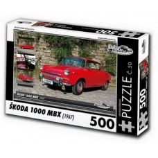 PUZZLE ŠKODA 1000 MBX (1967) 500 dílků