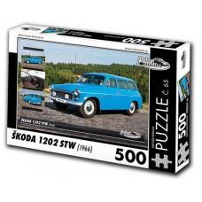 PUZZLE ŠKODA 1202 STW (1966) 500 dílků