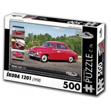 PUZZLE ŠKODA 1201 (1958) 500 dílků
